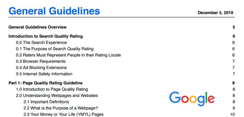 Google品質評価ガイドラインを活用して成功するSEO対策